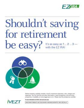 EZ IRA - Saving for Retirement Guide